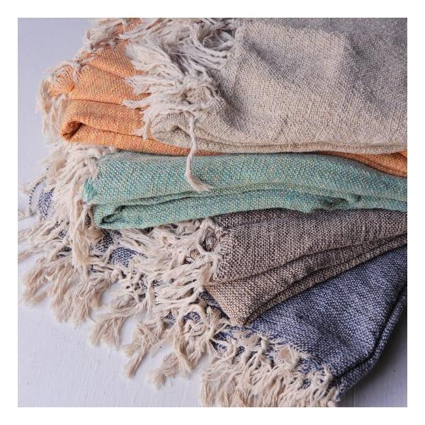 手織りのマルチクロス 140×225cm 全5色