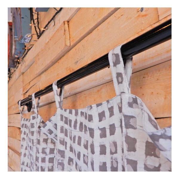 ダブプリントカーテン 105×170cm ホワイト|abracadabra|03