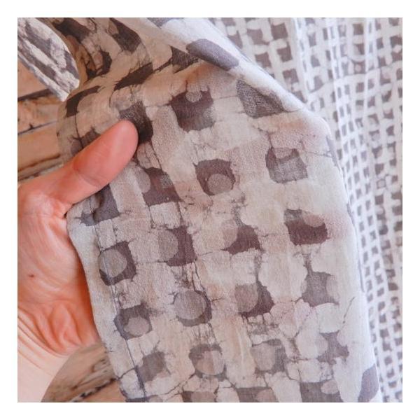 ダブプリントカーテン 105×170cm ホワイト|abracadabra|04