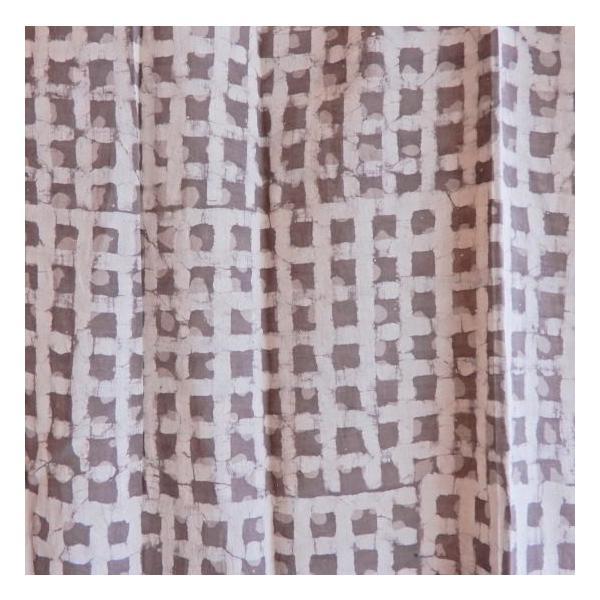 ダブプリントカーテン 105×170cm ホワイト|abracadabra|05