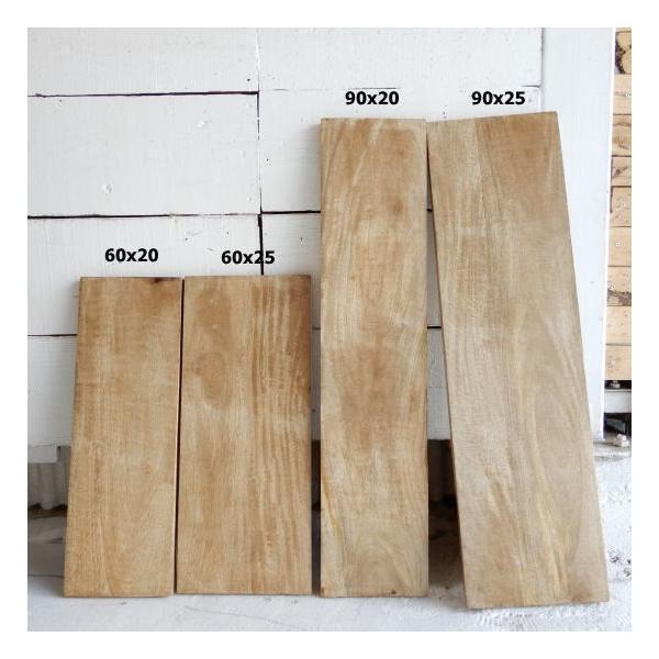 マンゴーウッド棚板 90×25cm|abracadabra|05