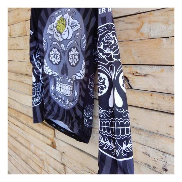 Topanga Fashion スカルサイクリングウェア ブラック|abracadabra|03