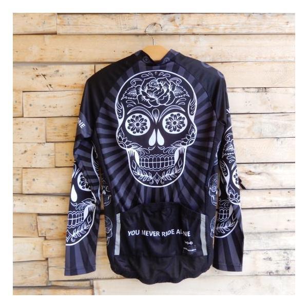 Topanga Fashion スカルサイクリングウェア ブラック|abracadabra|04