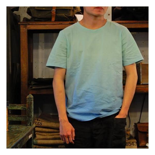 TOPANGA fashion グラデーションTシャツ ブルー(メール便可)
