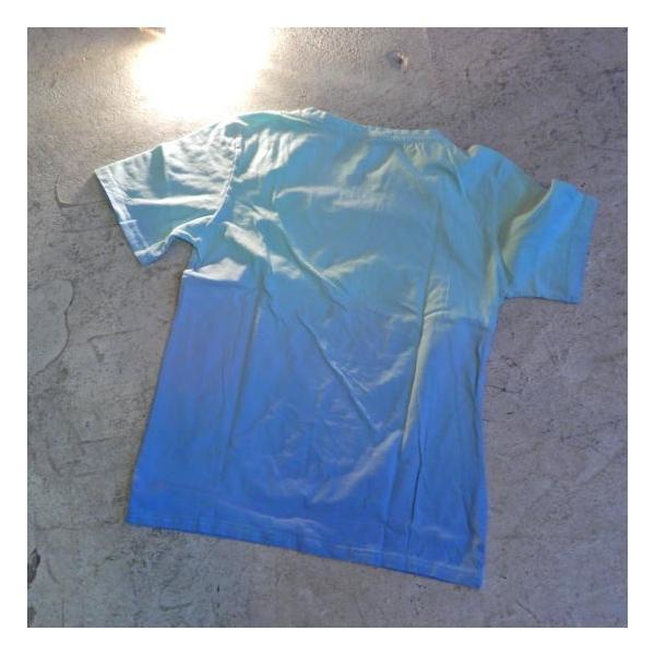 TOPANGA fashion グラデーションTシャツ ブルー(メール便可)|abracadabra|05