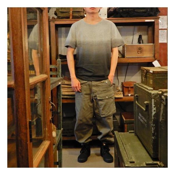 TOPANGA fashion グラデーションTシャツ グレー(メール便可)