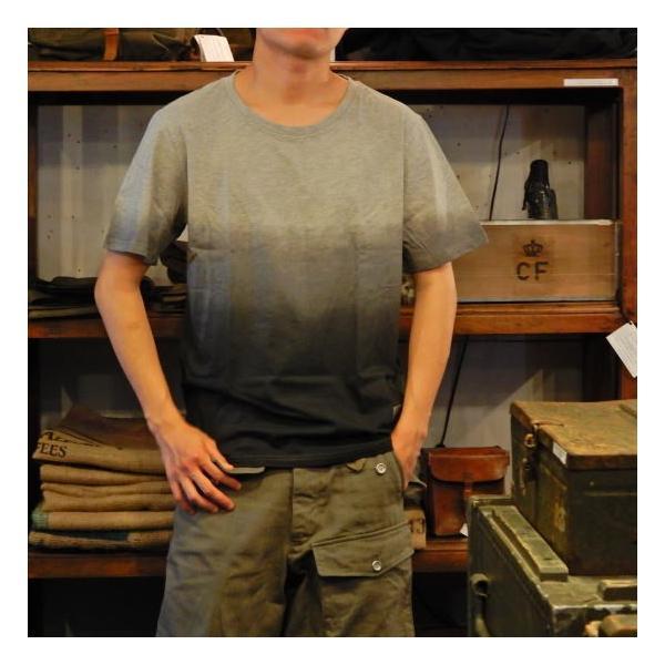 TOPANGA fashion グラデーションTシャツ グレー(メール便可) abracadabra 02