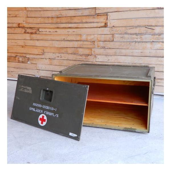 スウェーデン軍 メディカルウッドボックス Lサイズ|abracadabra