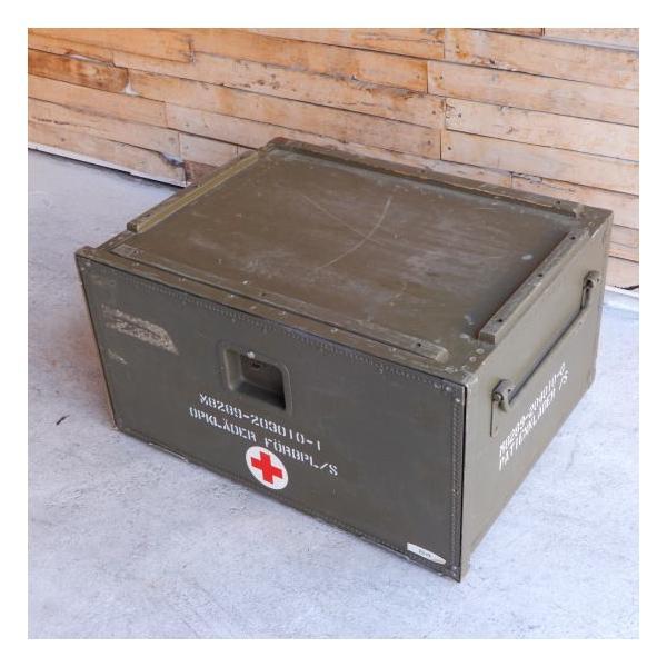 スウェーデン軍 メディカルウッドボックス Lサイズ|abracadabra|02