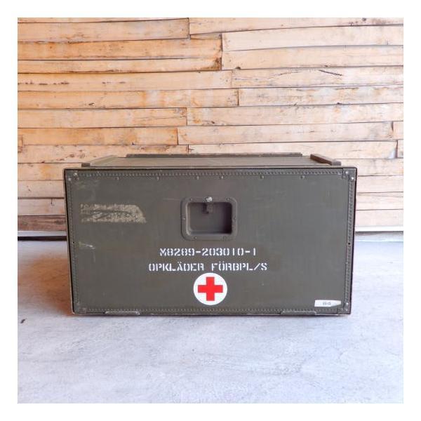 スウェーデン軍 メディカルウッドボックス Lサイズ|abracadabra|03