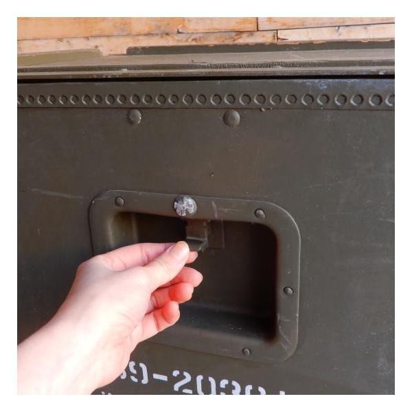 スウェーデン軍 メディカルウッドボックス Lサイズ|abracadabra|04