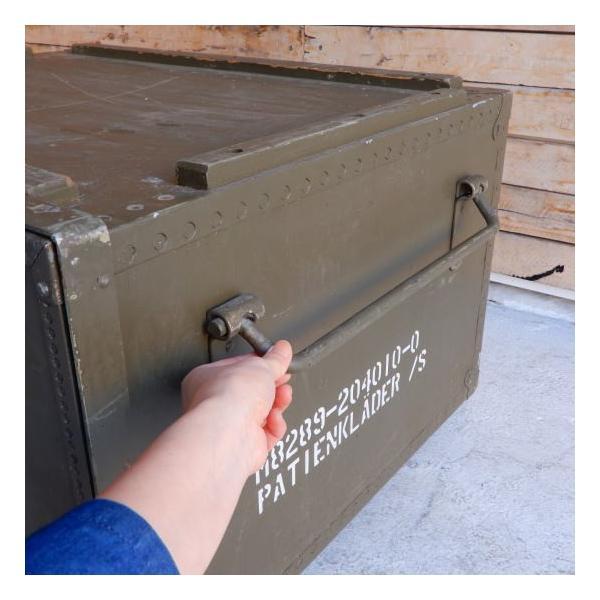 スウェーデン軍 メディカルウッドボックス Lサイズ|abracadabra|08