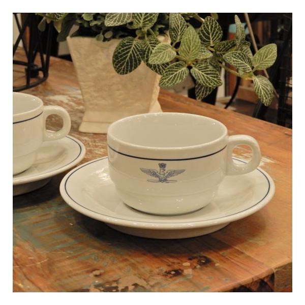 イタリア軍 A.M.I コーヒーカップ&ソーサー