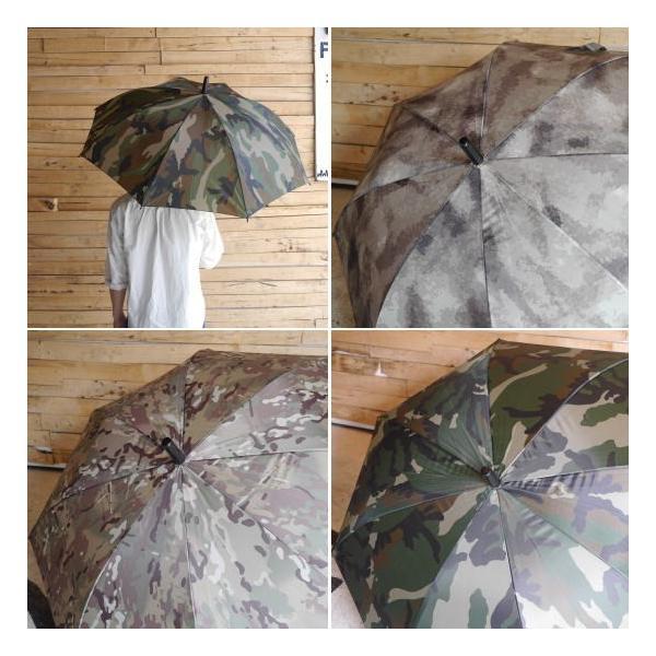 カモフラ長傘 全3種