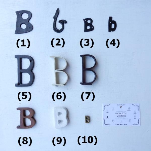 アンティークゴールド アルファベット&ナンバーパーツ|abracadabra|07