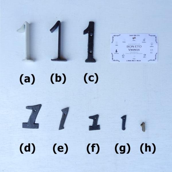 アンティークゴールド アルファベット&ナンバーパーツ|abracadabra|08