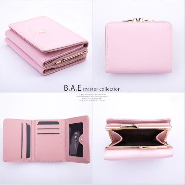 財布 レディース メール便送料無料 コンパクト 二つ折り 革 ミニウォレット|absolawake|08