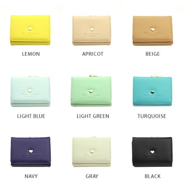 財布 レディース メール便送料無料 コンパクト 二つ折り 革 ミニウォレット|absolawake|10