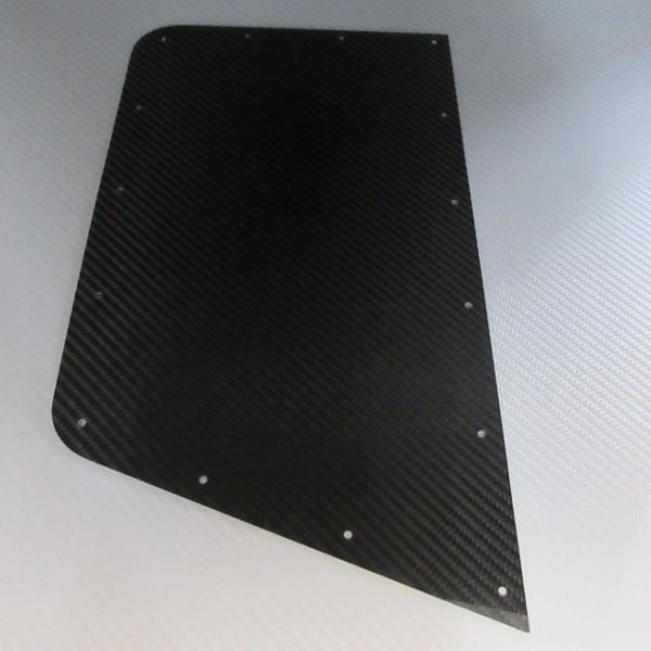 ウイングプロテクター 左右ペア カーボン 黒 / CATERHAM リベット・プロテクター付き|ac-minds-aj|02