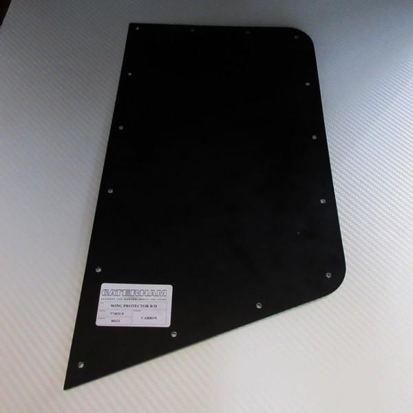 ウイングプロテクター 左右ペア カーボン 黒 / CATERHAM リベット・プロテクター付き|ac-minds-aj|03