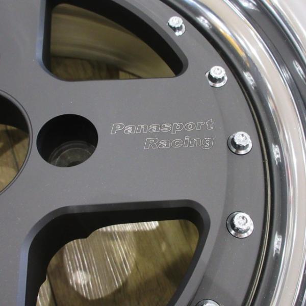 【数量限定お値打ち】Panasport Racing ホイール 4本セット 艶消しブラック / CATERHAM|ac-minds-aj|04