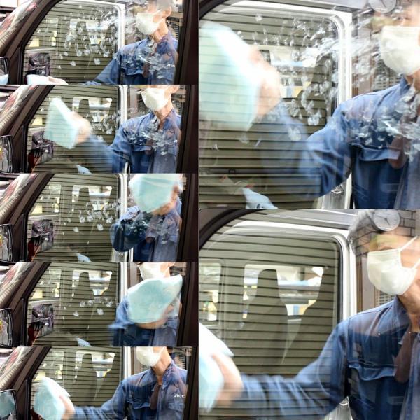 AdlaS アドラス インテリアガラスクリーナー 200ml マイクロファイバークロスUPPER付 B-IG-020 60サイズ|access-ev|05