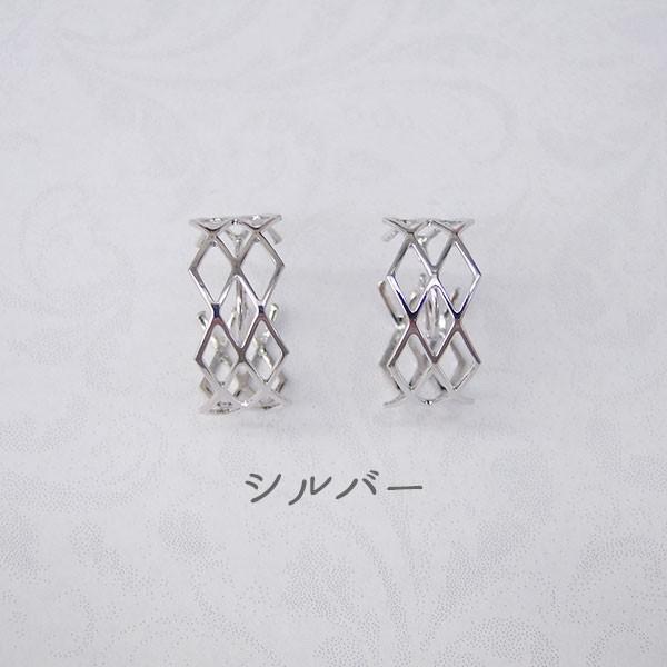 ニューノンホールピアス ワイヤーメッシュ マルピア|accessoryjapan|05