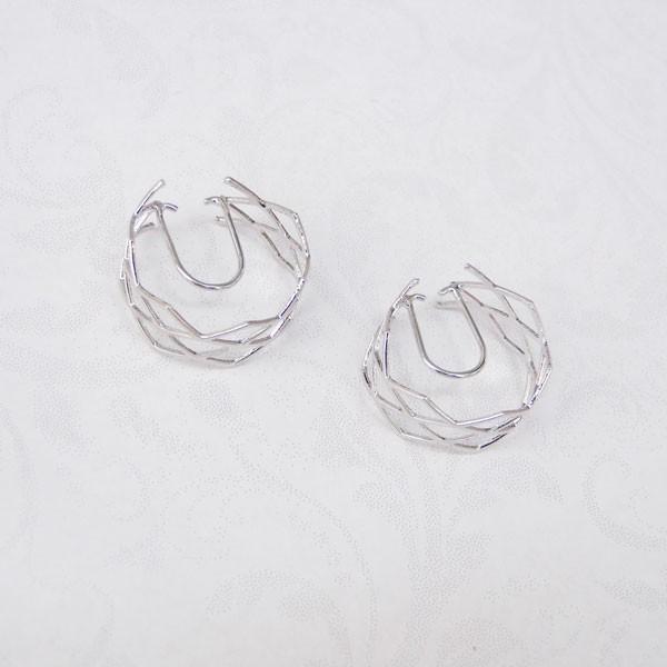ニューノンホールピアス ワイヤーメッシュ マルピア|accessoryjapan|06