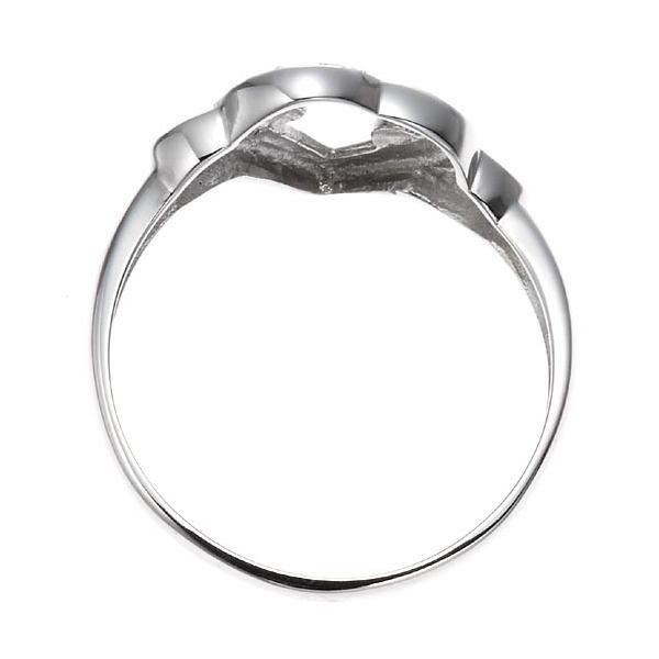 ホワイトゴールドダイヤモンドエッセンスハートリング 指輪 4月誕生石|accessorymart|03