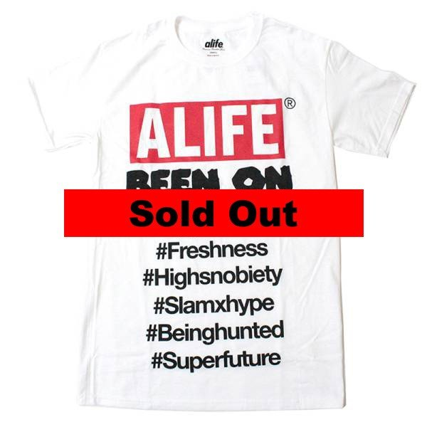 Alife:Been On Box Tee White