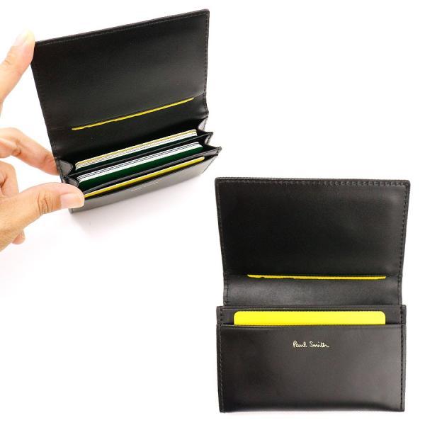 ポールスミス 小物 メンズ 名刺入れ インセットマルチストライプ カードケース PSC792 Paul Smith 贈り物|ace-web|07