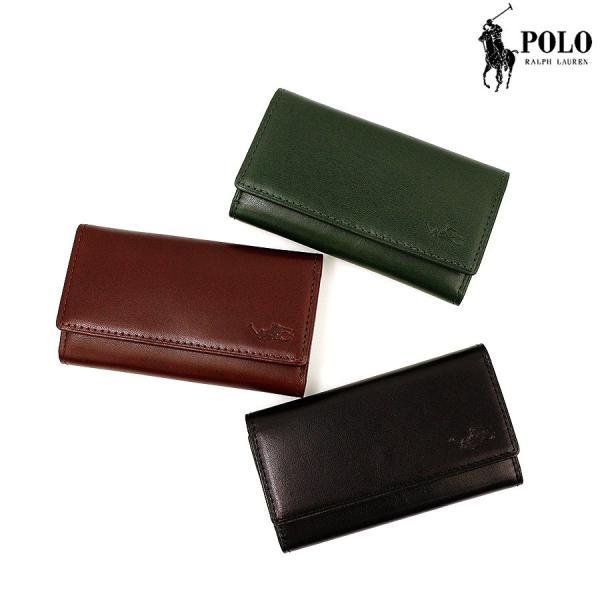 ポロ・ラルフローレン 小物 メンズ RGラグ キーケース P-750RG Polo Ralph Lauren 贈り物|ace-web