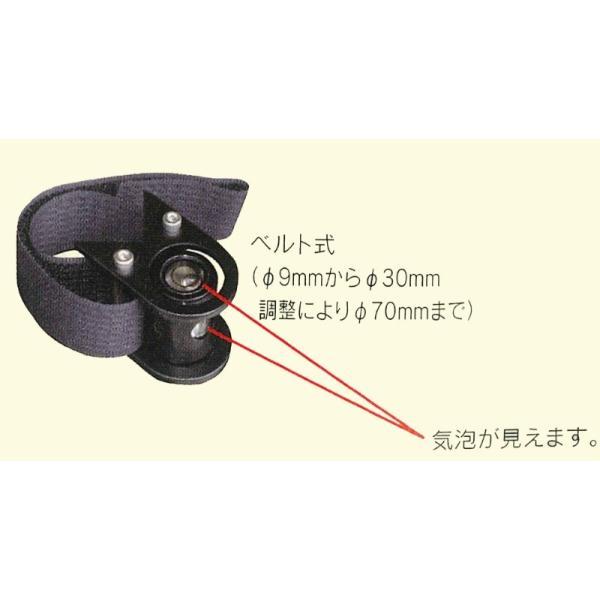 SKlTAIHEI 大平産業 アイライン水準器 RL-30 ベルト式 感度30' 測量 土木 光波 トータルステーション 測距