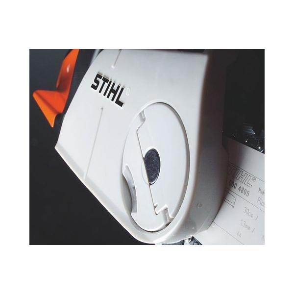 [送料無料] STIHL(スチール) 軽量コンパクトエンジンチェンソー MS180C-BE  ガイドバー35cm 農林 木材切断|acetech|05