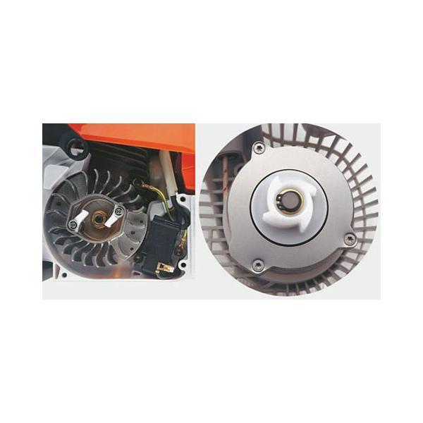 [送料無料] STIHL(スチール) 軽量コンパクトエンジンチェンソー MS180C-BE  ガイドバー35cm 農林 木材切断|acetech|06