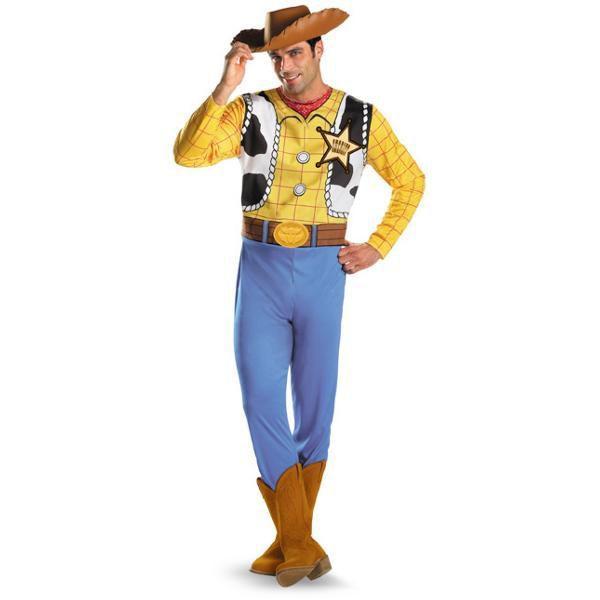 ウッディ 大人 コスプレ コスチューム トイストーリー 衣装 服 ディズニー 大人 カウボーイ 仮装