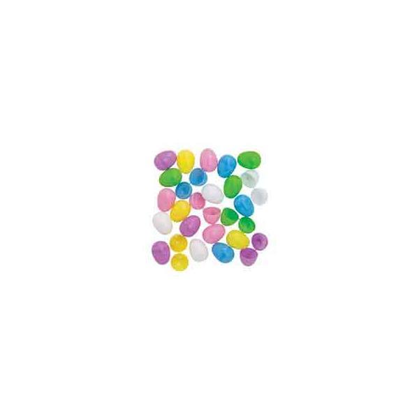 イースターエッグ プラスチック 卵 パステル おもちゃ 144個セット たまごカプセル エッグハント