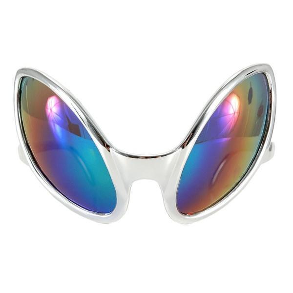 グッズ ホラーマスク めがね 近接遭遇 エイリアンのメガネ サングラス 未知との遭遇 UFO 宇宙人 ET コスプレ