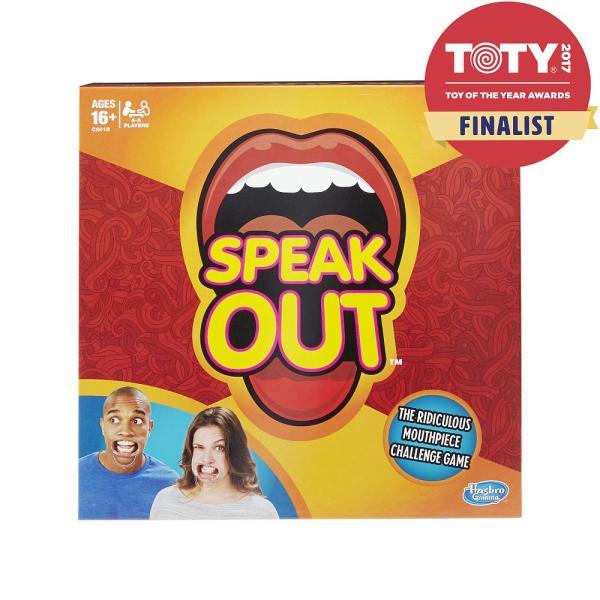 おもしろゲーム カードゲーム SPEAK OUT スピークアウト 笑える 海外 おもちゃ 英語 英会話 勉強 学習 練習 教材