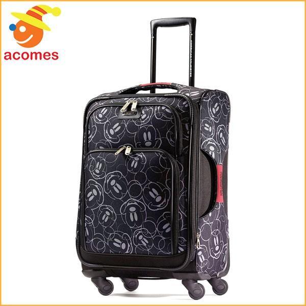 スーツケース 機内持ち込み ミッキー マウス キャリー バッグ アメリカンツーリスター 旅行 かばん ソフト サイドスピナー21 スーツケース ギフト