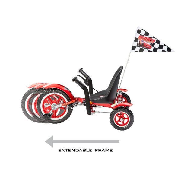 カーズ3 ASA Products 三輪車 ディズニー ライトニングマックイーン グッズ 子供 海外 おもちゃ レーシングカー  かっこいい 乗り物 玩具
