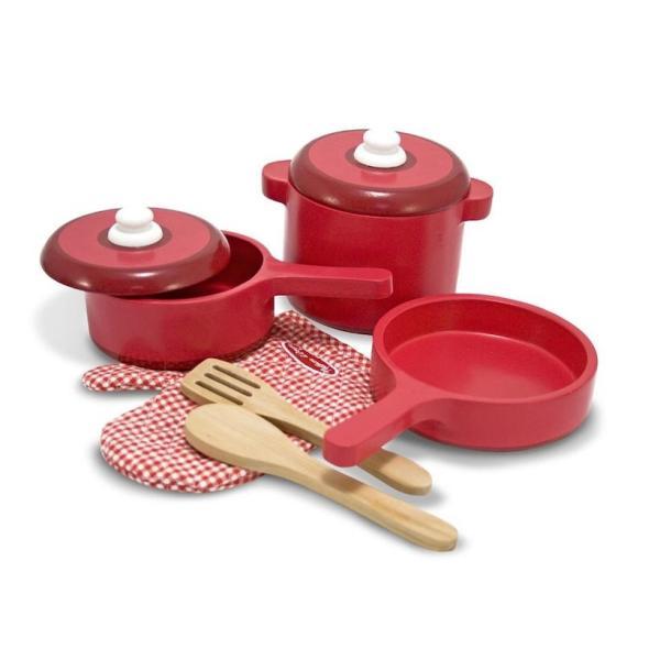 メリッサ&ダグ 木のおままごと キッチン 台所 ままごと セット 調理 料理  海外 玩具