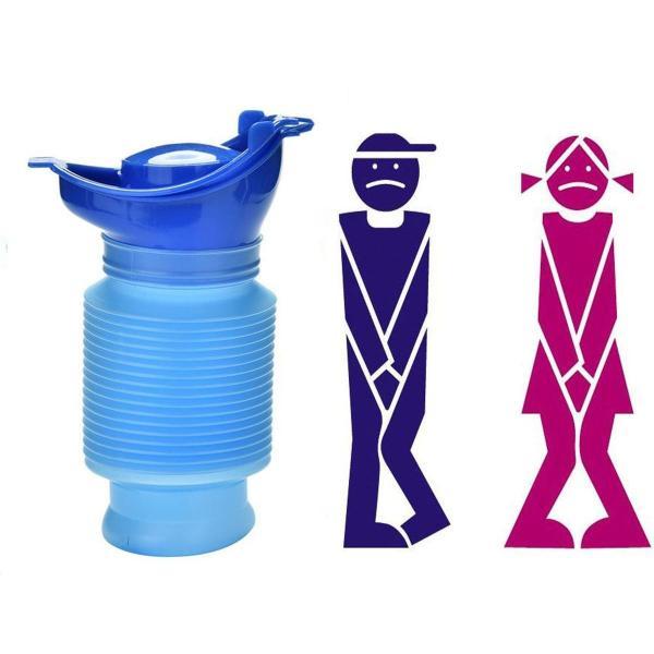 簡易 ポータブル 携帯 トイレ おしっこ 補助グッズ 男性 女性 ユニセックス 車内 防災 緊急 旅行 便利 グッズ