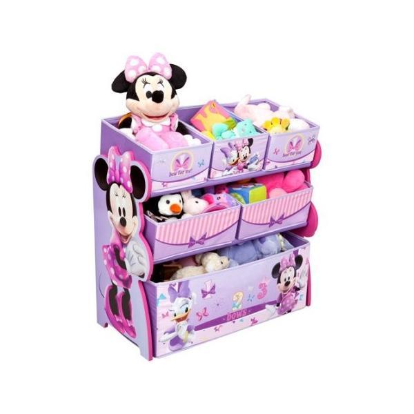 おもちゃ 収納 ボックス 子供 おもちゃ箱 片付け  女の子 ミニーマウス ディズニー キャラクター インテリア