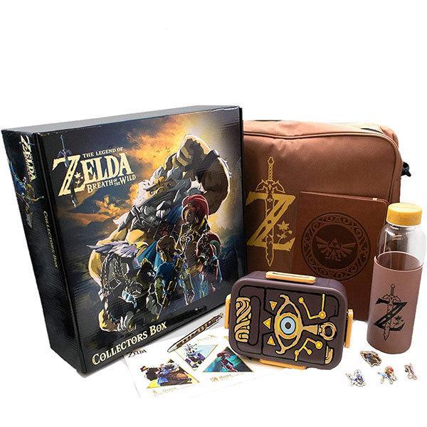 ゼルダの伝説 グッズ ブレス オブ ザ ワイルド 7セット コレクター ボックス 限定アイテム
