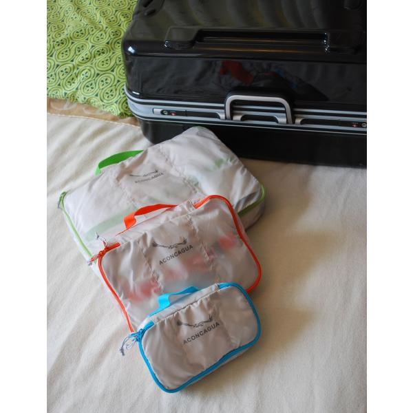 バッグインバッグ オーガナイザーポーチ 3点セット アコンカグア エンパケ|aconcagua|02