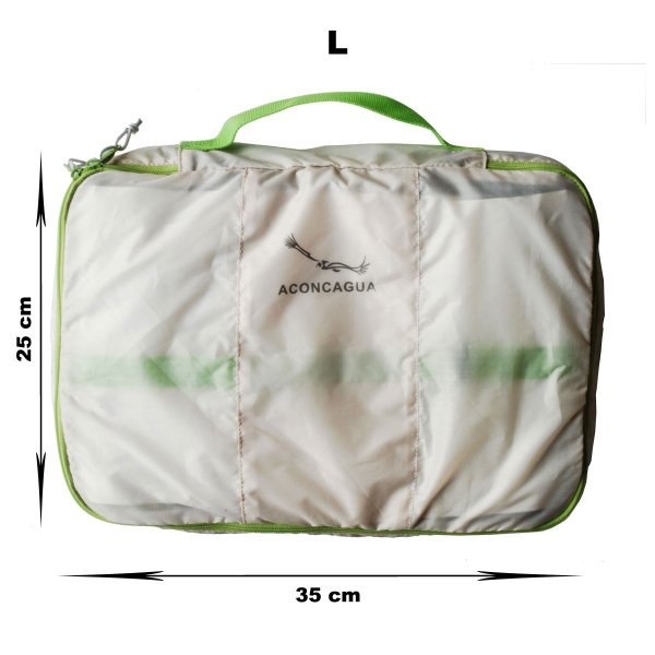 バッグインバッグ オーガナイザーポーチ 3点セット アコンカグア エンパケ|aconcagua|03