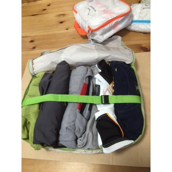 バッグインバッグ オーガナイザーポーチ 3点セット アコンカグア エンパケ|aconcagua|06