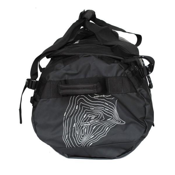 ダッフルバッグ リュックサック ボストンバッグ 60L 防水 スポーツバッグ 撥水 Aconcagua アコンカグア Tigre ティグレ BLACK 60L|aconcagua|06