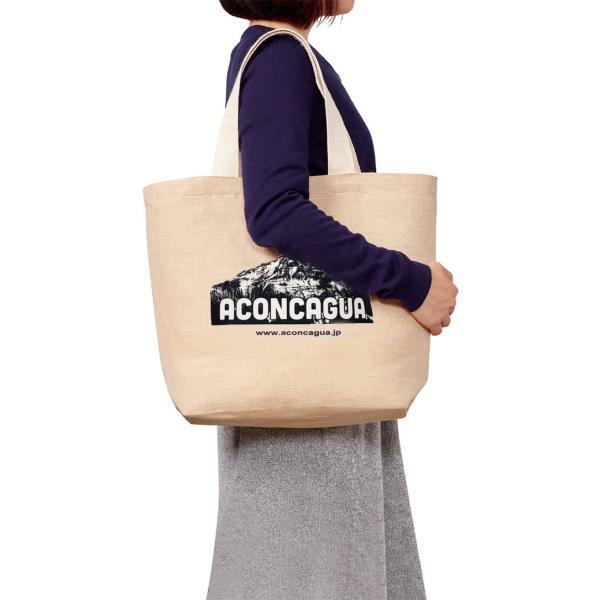 トートバッグ 生なりコットン キャンバス地 サイズM 男女兼用 メンズ レディース アコンカグア トートバッグ M-LONG|aconcagua|02